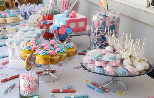Candy bar barcelona mesas dulces para bodas fiestas y - Preparar mesa dulce para comunion ...
