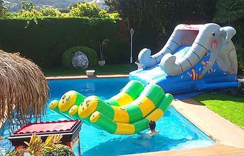 Alquiler hinchables acu ticos barcelona hinchables de agua - Hinchables de agua para piscinas ...